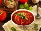 Рецепта Италиански Сос Маринара за спагети и други видове паста и бели меса